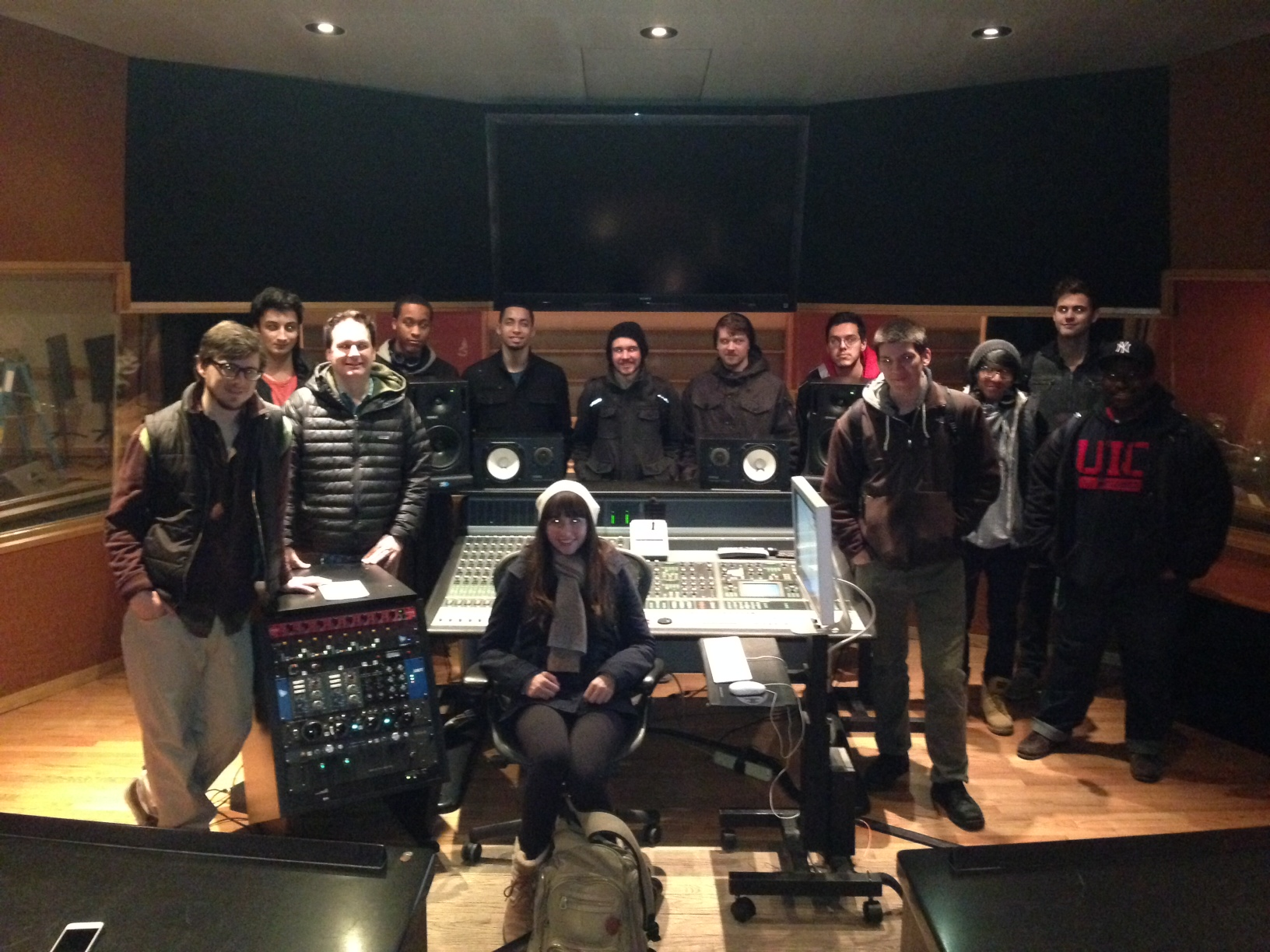 AES Members at the Chicago Recording Company | Feb 2014