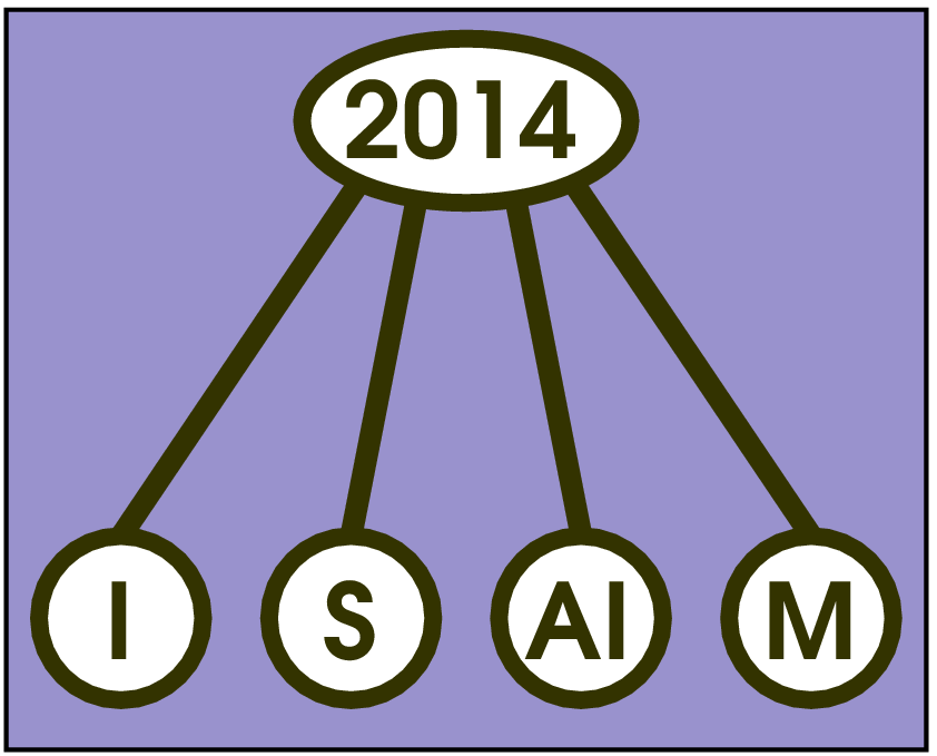 The logo of ISAIM 2014