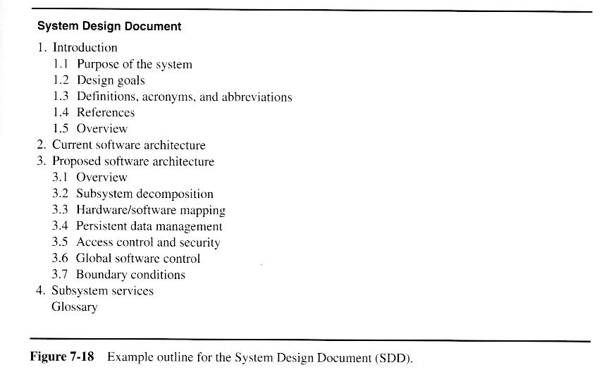 oo sw engr  system design